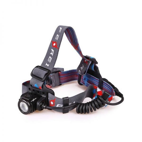 Powerful headlight ideal for running and Orienteering