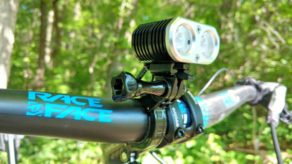 Quality Mountain Bike Light 1500 lumens for your steepest trail