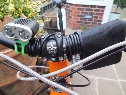 Powerful light for Mountain Biking and Cycle Commuting
