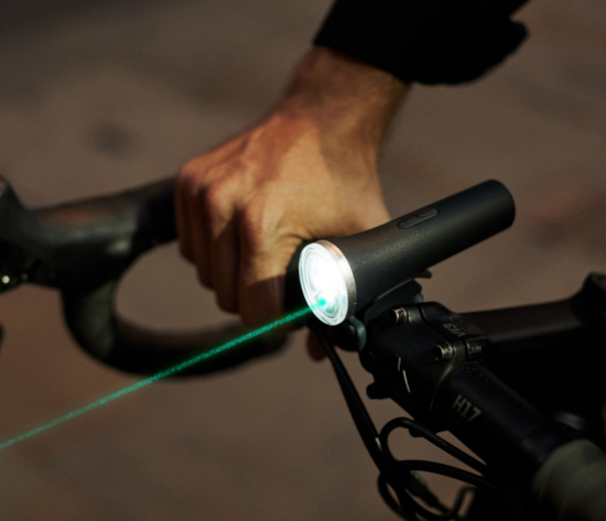 Laserlight commuter bike light - be seen and be safe