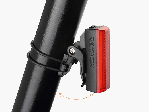 Rear cycle light for road riding and commuting