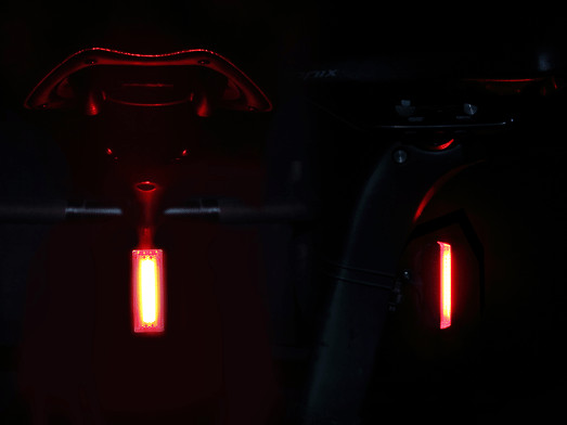 Rear light for urban cycling and cycle commuting