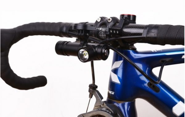 Lightweight and powerful cycle light bike light