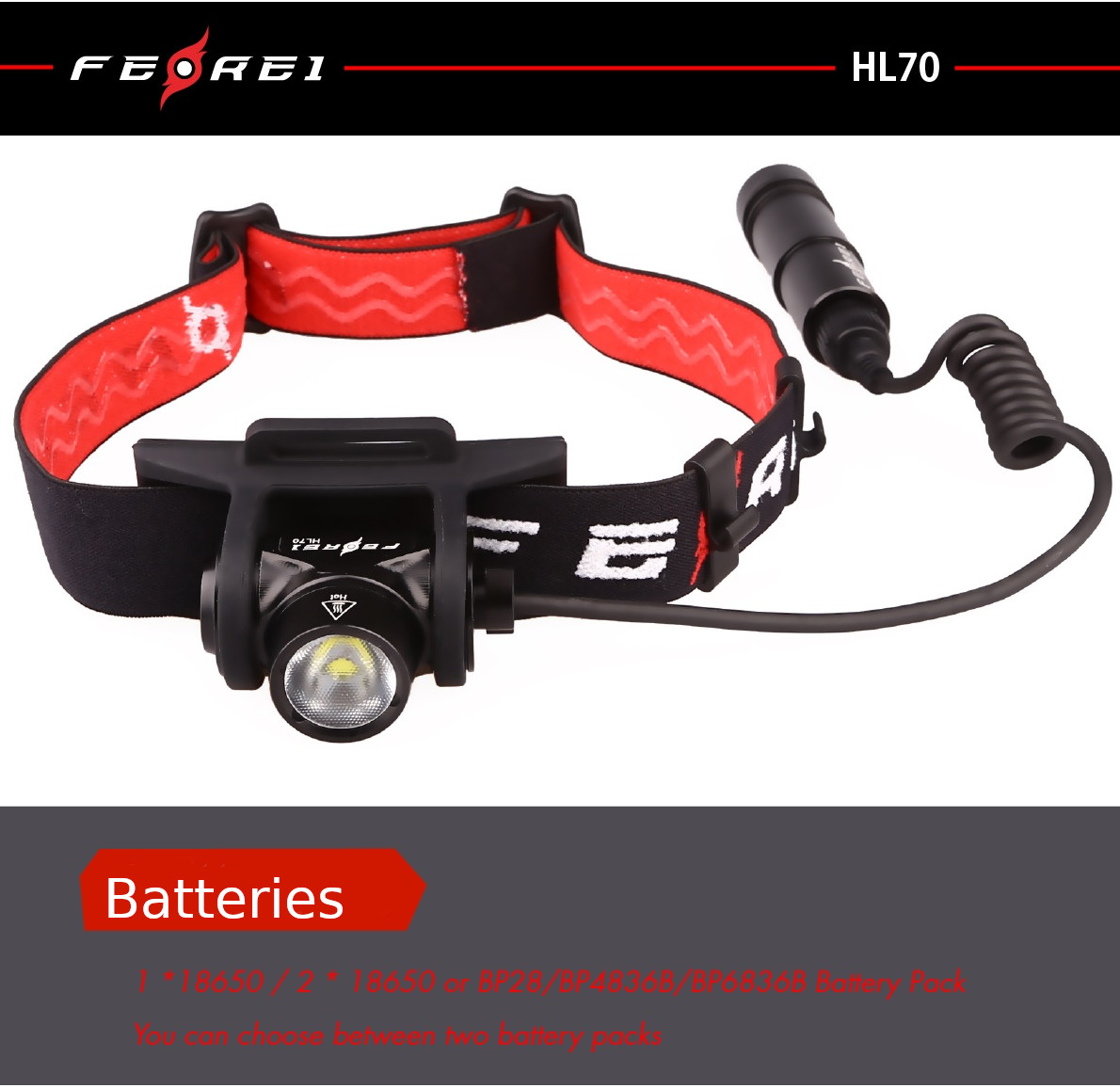 powerful headlight light for running orienteering